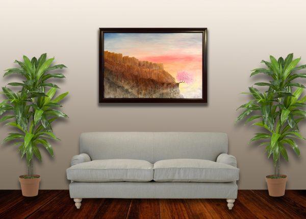 KJ's Art Studio   Original Fine Art by Christian American Artist, KJ Burk - Among the Clouds