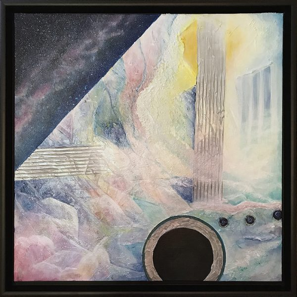 KJ's Art Studio | Original Fine Art by Christian American Artist, KJ Burk - Blackhole Utopia