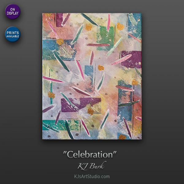 KJ's Art Studio | Original Fine Art by Christian American Artist, KJ Burk - Celebration