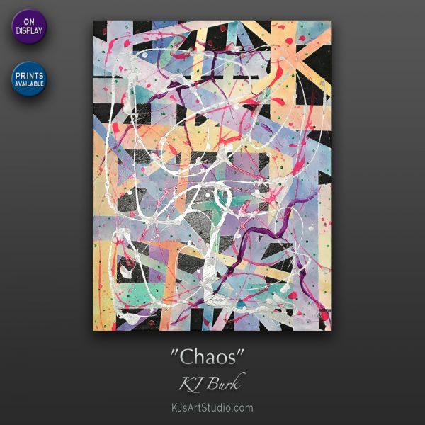 KJ's Art Studio | Original Fine Art by Christian American Artist, KJ Burk - Chaos