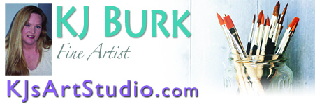 KJ's Art Studio | Original Fine Art by Christian American Artist, KJ Burk
