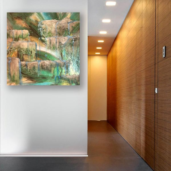 KJ's Art Studio | Original Fine Art by Christian American Artist, KJ Burk - Where the Water Flows